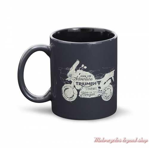 Mug Adventure Triumph, céramique, noir, 25 cl, MMUS19312