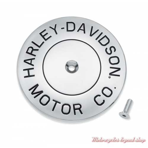 Enjoliveur de filtre à air Motor Co Harley-Davidson, boulon central, chrome, 61300792