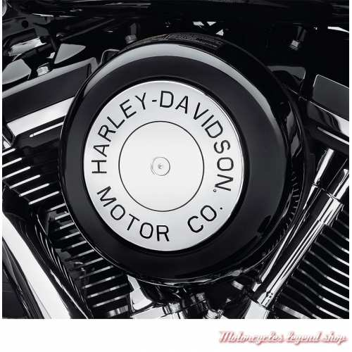 Enjoliveur de filtre à air Motor Co Harley-Davidson, boulon central, chrome, visuel, 61300792