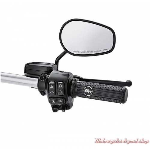 Poignées Défiance Harley-Davidson, noires, visuel, 56100159