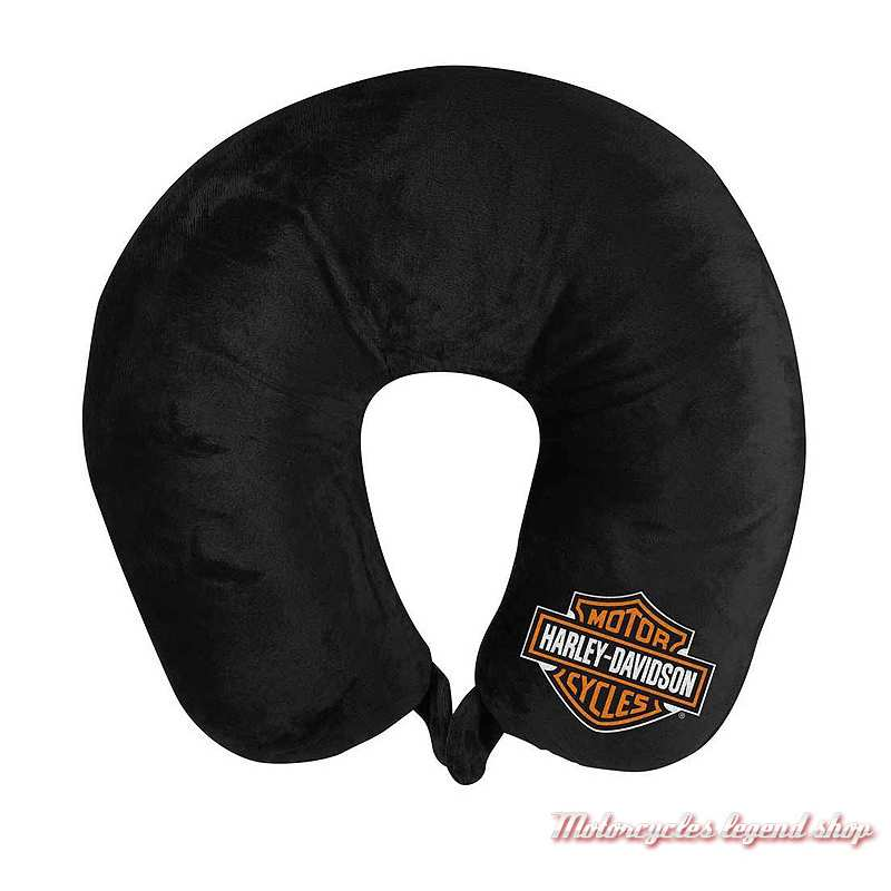 Coussin de voyage Harley-Davidson, noir, microfibre, polyester, 949164
