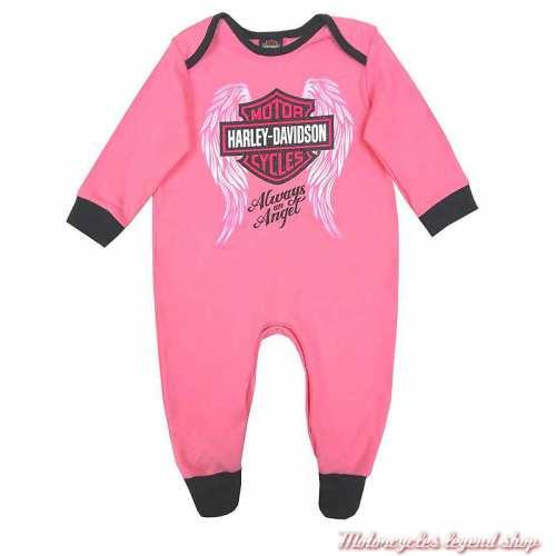 Pyjama bébé fille Harley-Davidson