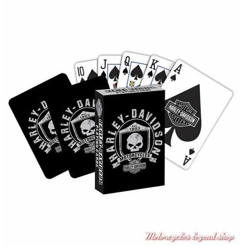 Jeu de cartes Skull Harley-Davidson