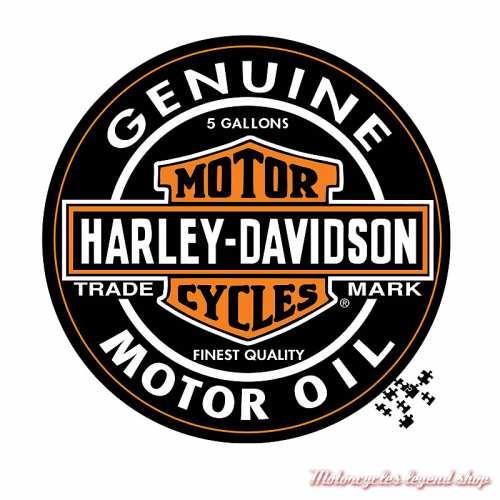 Puzzle Motor oil Harley-Davidson, 1000 pièces, circulaire, 6022
