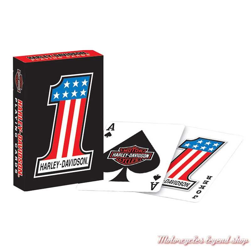 Jeu de 54 cartes One US Harley-Davidson, 638