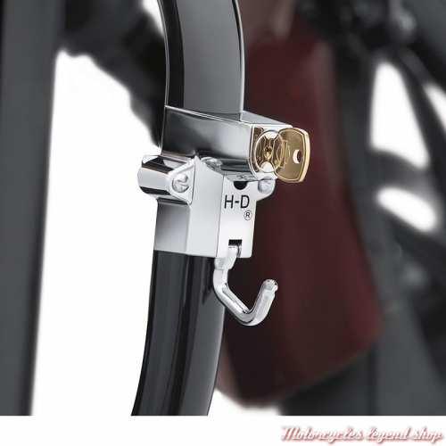 Support de verrouillage de casque Harley-Davidson universel, à clé, visuel 1, 45732-86