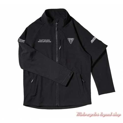 Veste soft shell Moto2 Triumph homme