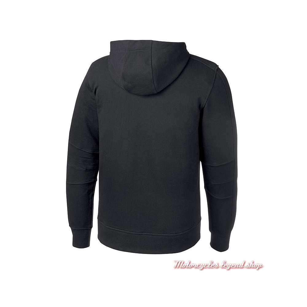 Sweatshirt Logo Harley-Davidson homme, noir, à capuche, H-D Moto, dos, 96874-19VM
