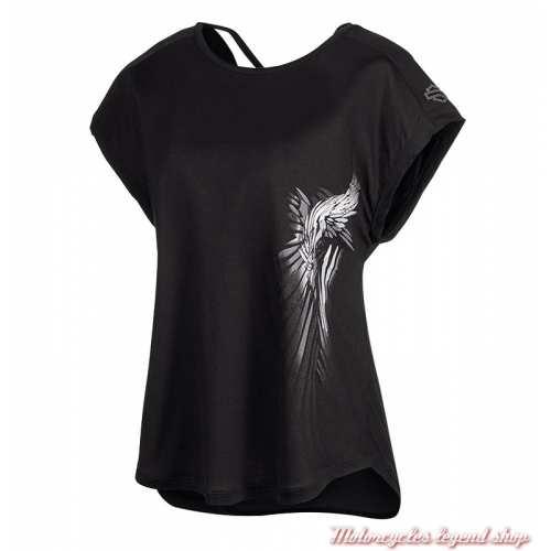 Tee-shirt Crossback Harley-Davidson femme