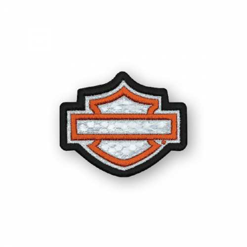 Petit patch Blank Bar & Shield réfléchissant Harley-Davidson EM1144381