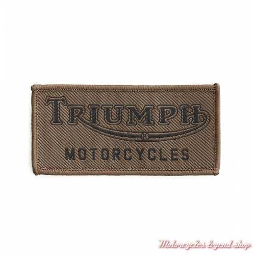 Patch Khaki Tiger Triumph vintage, brodé, à coudre, MPAS19E32