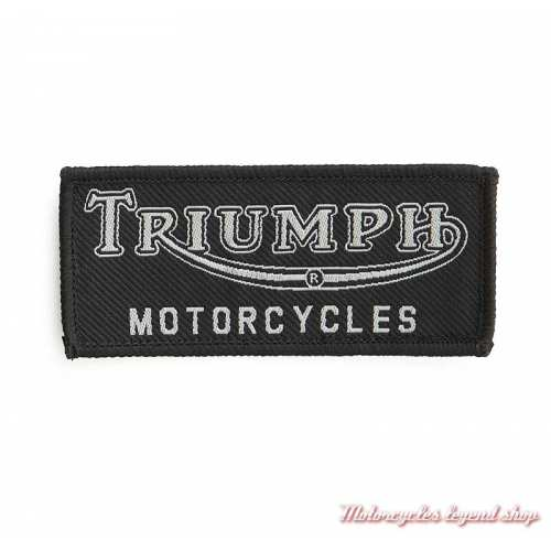 Patch noir Tiger Triumph