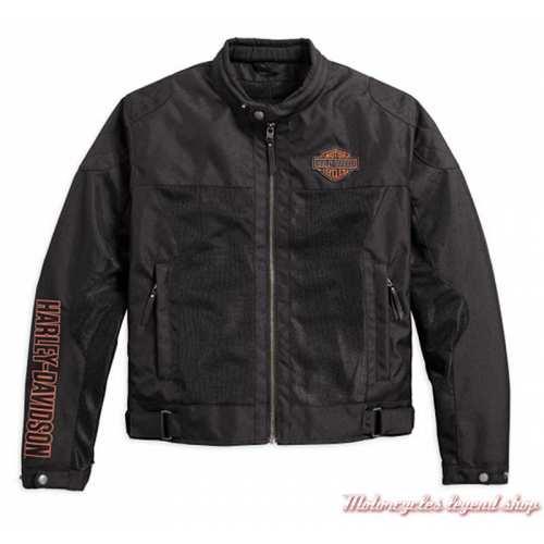 Blouson textile Bar & Shield Harley-Davidson homme