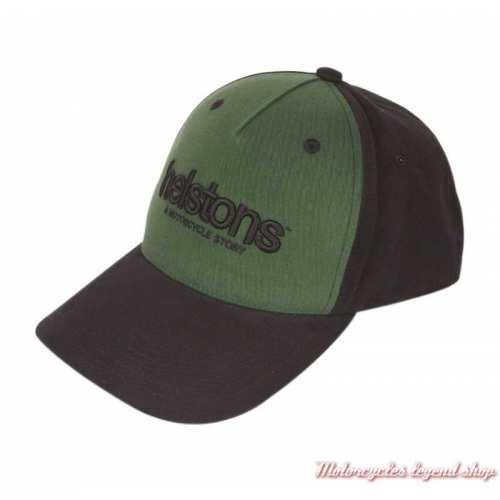 Casquette Corporate Helstons, noir, vert