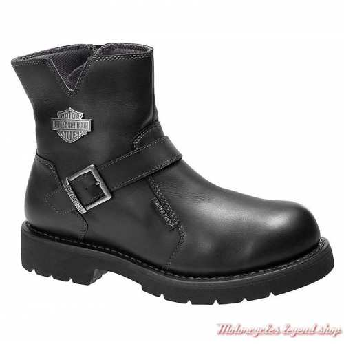 Boots Williams Harley-Davidson homme, waterproof, noir, D97133