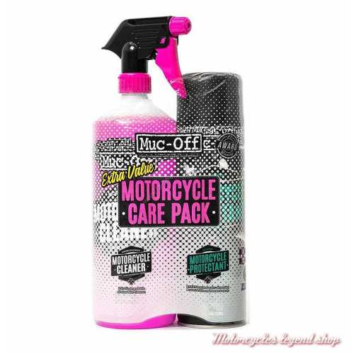 Kit d'entretien Motorcycle Care Pack Muc-Off, Motorcycle Cleaner, Motorcycle Protectant
