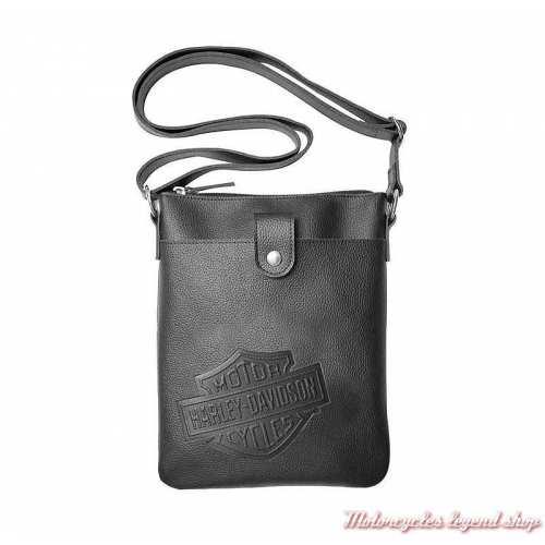 Besace cuir Bar & Shield Harley-Davidson