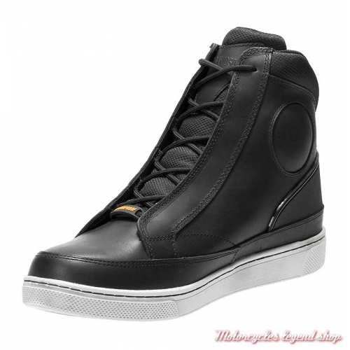 Baskets Vardon Harley-Davidson homme, cuir noir, waterproof, homologués CE, D97094-2