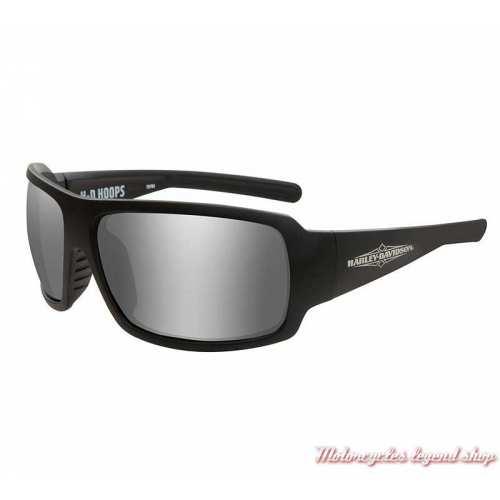 Lunettes solaire Hoops Harley-Davidson unisexe, noir mat, HAHPS02