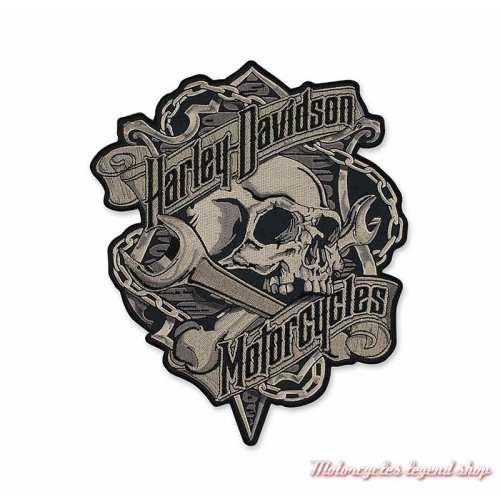 Patch Grim Harley-Davidson