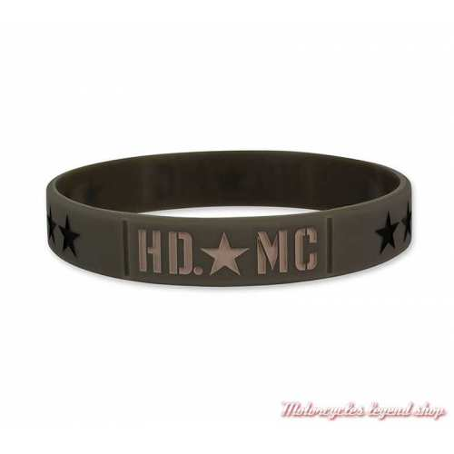 Bracelet silicone Resolute Harley-Davidson