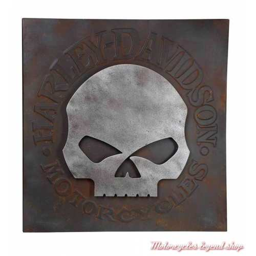 Panneau Skull Harley-Davidson