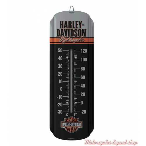 Thermomètre Retro Motorcycles Harley-Davidson