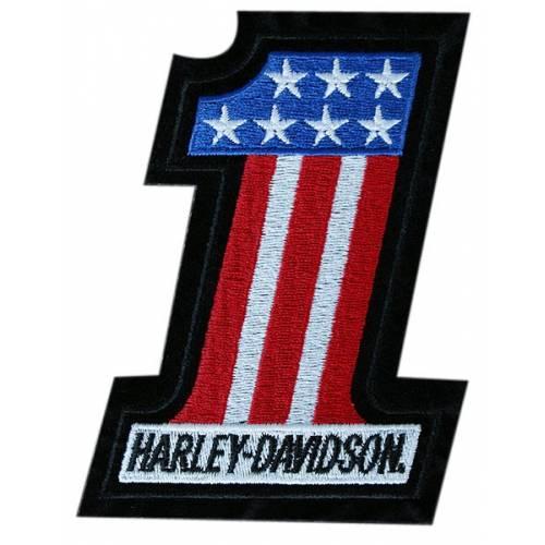 Patch Number One US Harley-Davidson