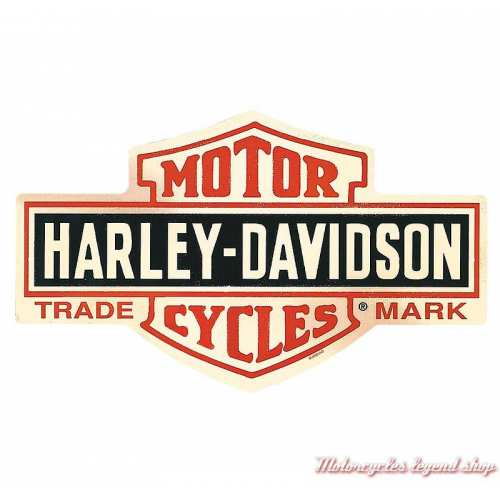 Plaque métal Bar & Shield Die-Cut Harley-Davidson, Ande Rooney 2010131