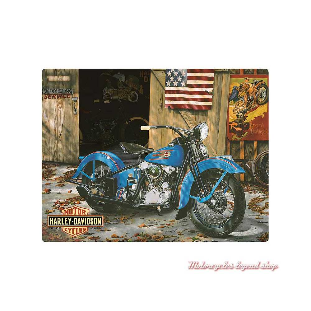 Plaque At Your Service Harley-Davidson Ande Rooney 2010541