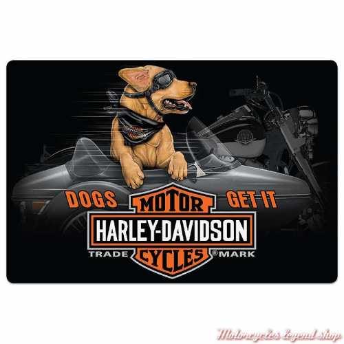 Plaque métal Side Dog Harley-Davidson