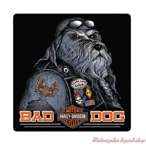 Plaque métal Bad Dog Harley-Davidson, Ande Rooney 2011791
