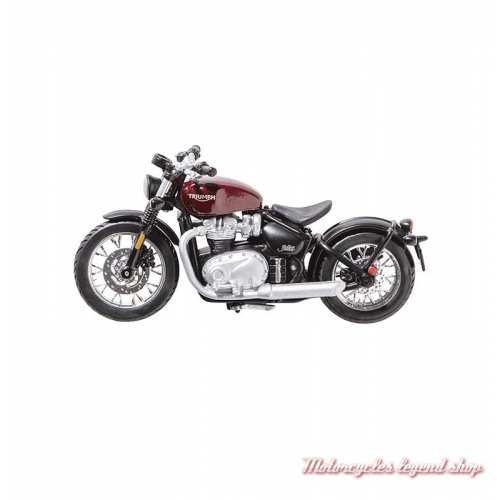 Miniature Triumph Bobber rouge, echelle 1/18, MMOA19331