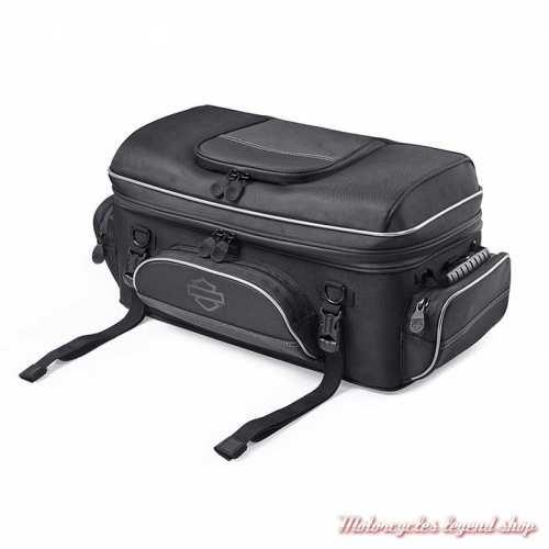 Sac Tour Pak Premium Onyx Harley-Davidson polyester noir, 93300123