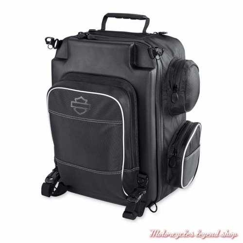 Sac Week-end Premium Onyx Harley-Davidson, sac à dos, polyester noir, 93300105