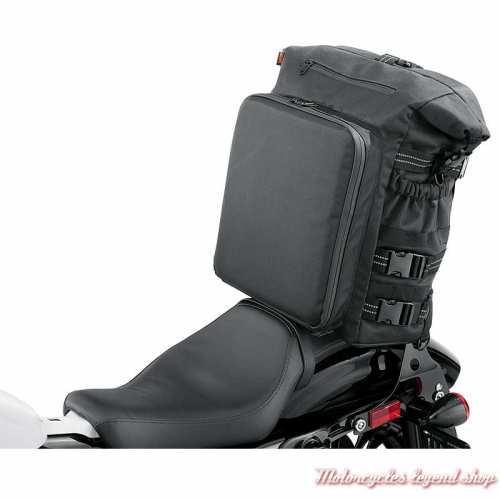 Grand sac étanche Overwatch Harley-Davidson, noir, polyester, visuel, 93300120