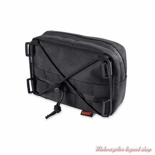 Sacoche de guidon Overwatch Harley-Davidson, polyester noir, 93300121