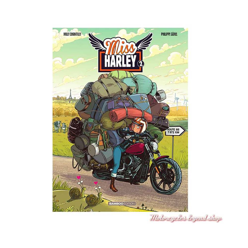 "BD ""Miss Harley"" Tome 2 48 pages, Philippe Gürel, Arnaud Poitevin, Edition Bamboo"