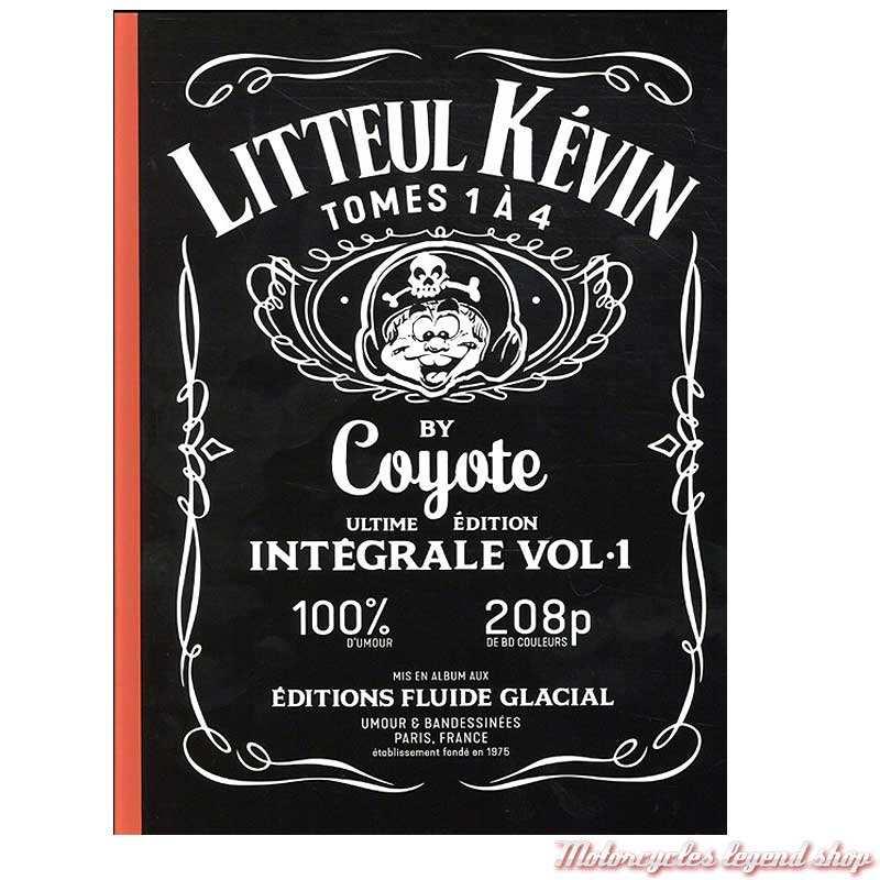 BD Litteul Kevin Intégrale Vol. 1, tomes 1 à 4, 208 pages, éditions Fluide Glacial