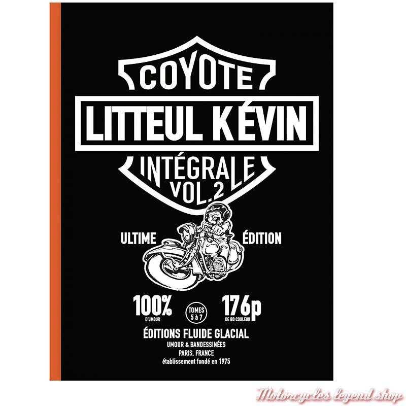 BD Litteul Kevin Intégrale Vol. 2, tomes 5 à 7, 176 pages, éditions Fluide Glacial