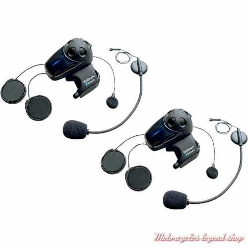Système Bluetooth SMH10 Duo Sena pour casque intégral et jet