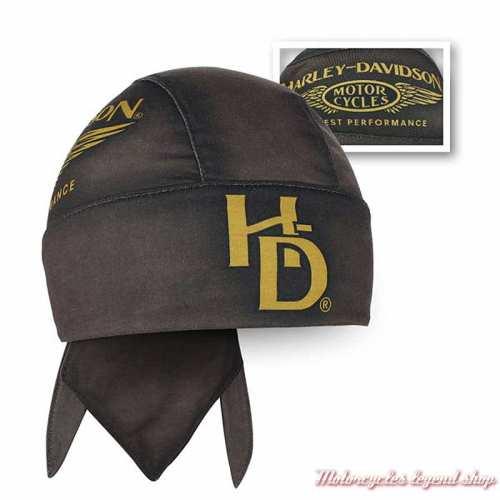 Zandana Highest Harley-Davidson homme, marron, polyester, HW33668
