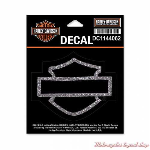 Sticker Bar & Shield strass argent Harley-Davidson, DC1144062