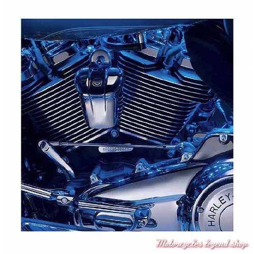 Kit d'extension d'éclairage Electra Glo Harley-Davidson, bleu, visuel, 67671-09
