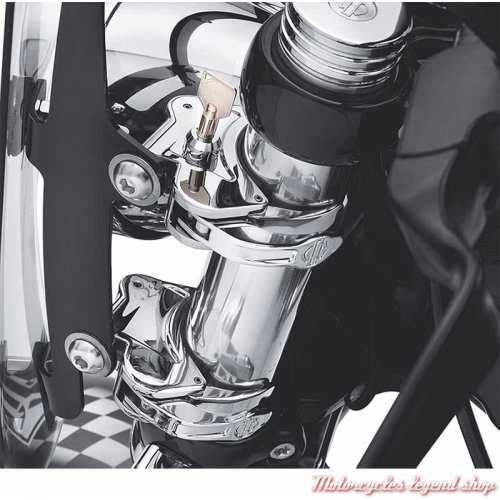 Dispositif de verrouillage pare-brise à dépose rapide 41 mm Harley-Davidson visuel, 57400007
