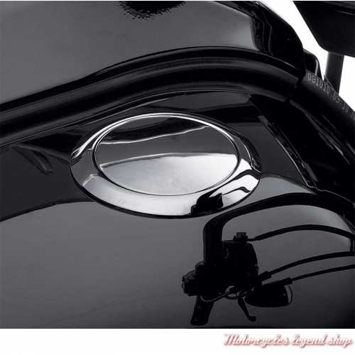 Bouchon de réservoir affleurant Harley-Davidson, chromé, 61100006