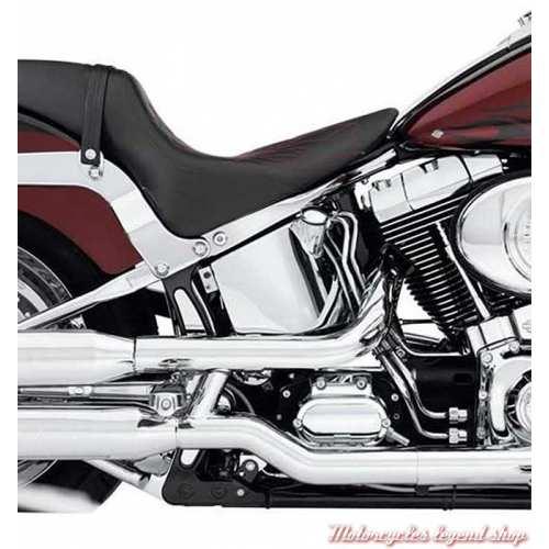 Cache de milieu de cadre Harley-Davidson chromé, pour Softail, visuel, 47244-05