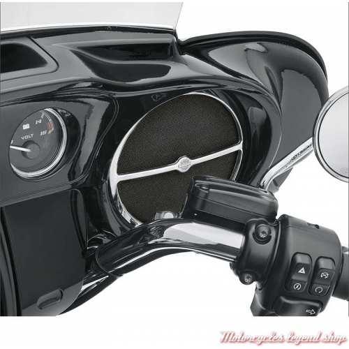 Habillage de Haut-parleur avant chromé Harley-Davidson, visuel, 61400197