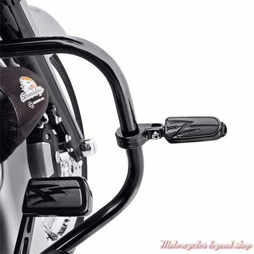 Kit de montage pour Repose-pieds sur pare-jambes Harley-Davidson, noir brillant, visuel, 54234-10A