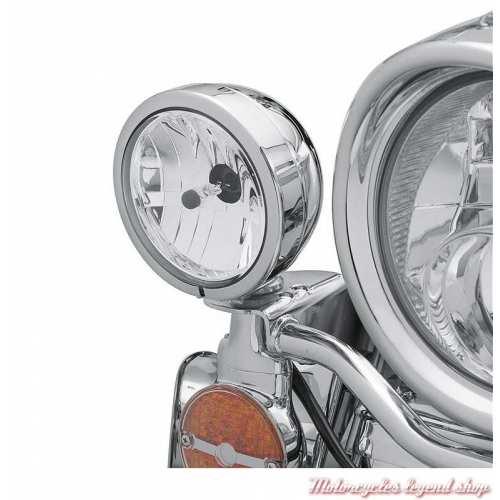 Cerclage de feux de croisement Harley-Davidson, chromé, visuel, 68775-93TA